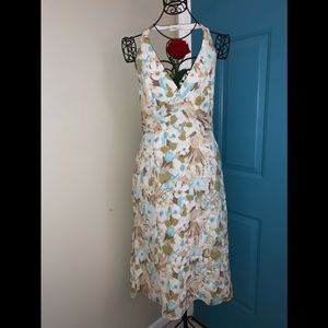 Laundry by Shelli Segal Floral Halter Dress Sz. 12